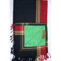 Kikoi Serviette Black & Red