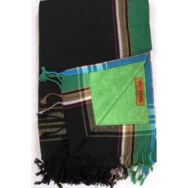 Kikoi Serviette Black&Green