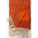 IKAT Kikoi Serviette Orange